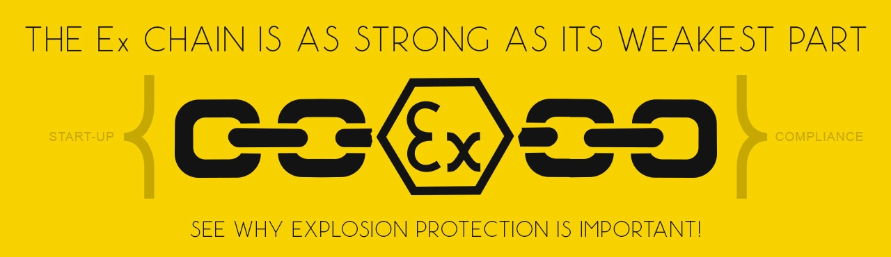 Ex chain - why explosion protection is important